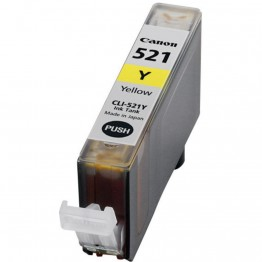 Compatible Canon CLI-521Y Yellow
