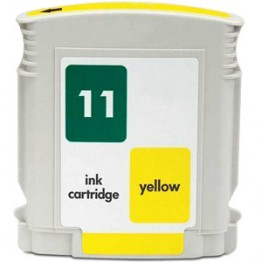 Compatible HP inkjet 11 Yellow (C4838A)
