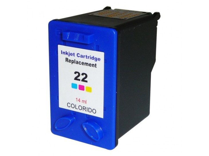 Compatible HP inkjet 22 XL Colour - High Capacity