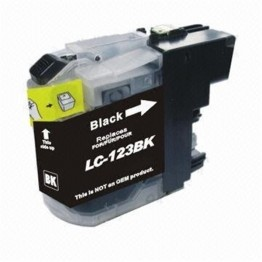 Compatible Brother LC123 Black (New Chip)