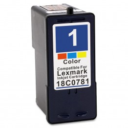 Compatible Lexmark 1 (18C0781) Colour cartridge