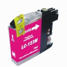 Compatible Brother LC123 Magenta (New Chip)