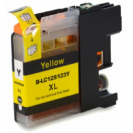 Compatible Brother LC123 Yellow (New Chip)