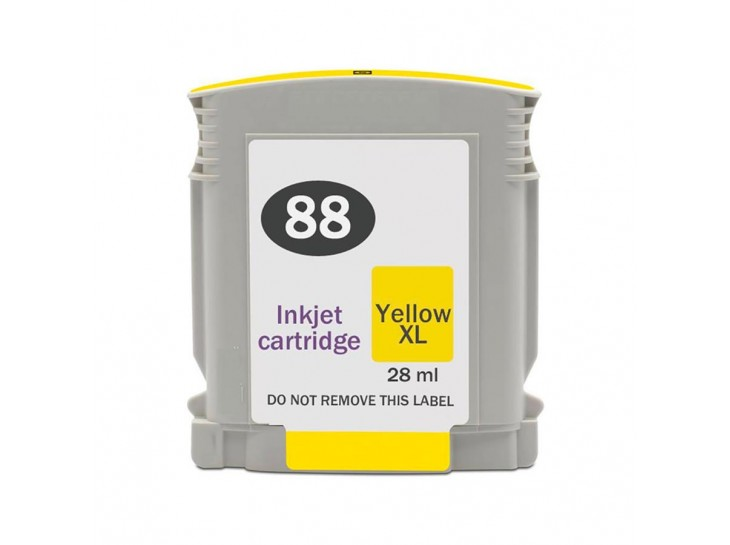 Compatible HP 88 XL Yellow C9393AE