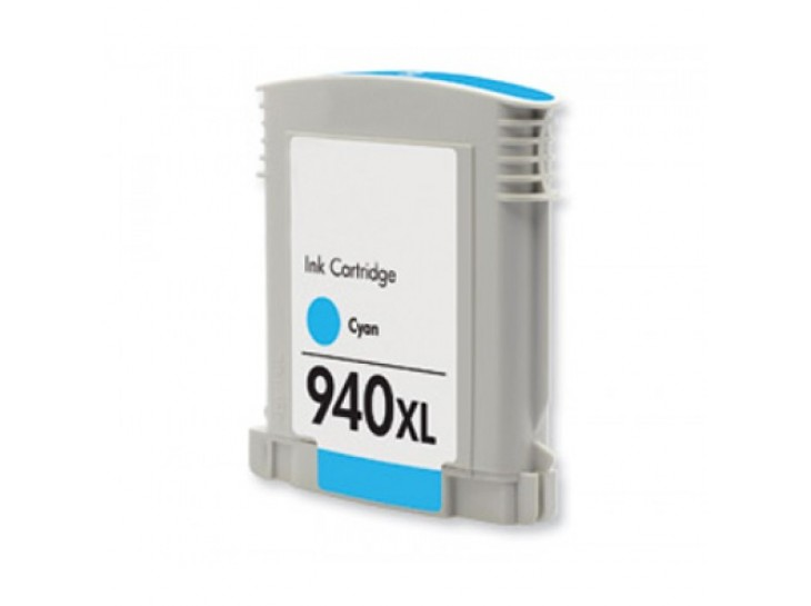 Compatible HP 940 XL Cyan C4907AE