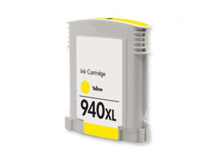 Compatible HP 940 XL Yellow C4909AE